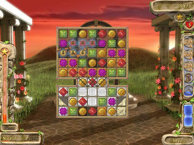 Screenshot Do Jogo 2 Secrets of Olympus