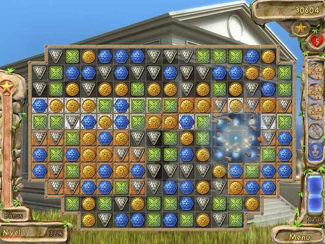 Screenshot Do Jogo 3 Secrets of Olympus