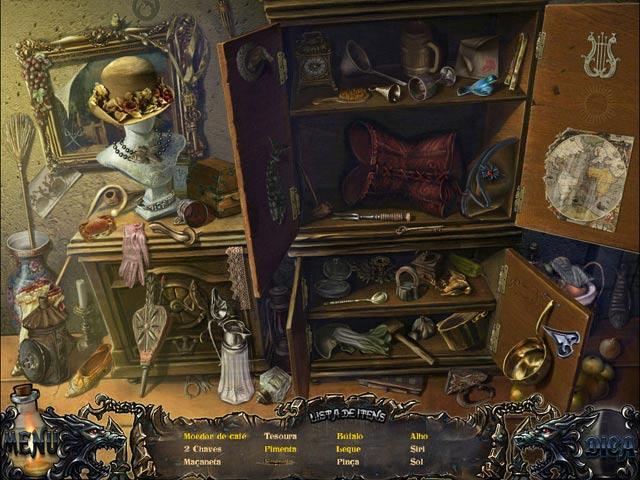 Screenshot Do Jogo 1 Shadow Wolf Mysteries: A Maldição da Lua Cheia