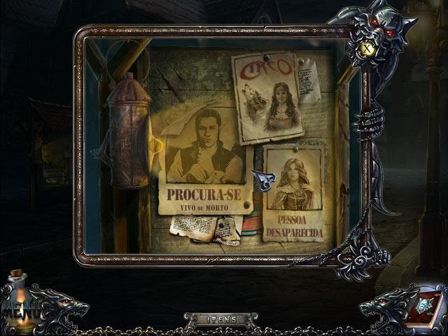 Screenshot Do Jogo 2 Shadow Wolf Mysteries: A Maldição da Lua Cheia