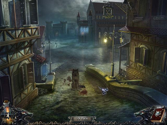 Screenshot Do Jogo 3 Shadow Wolf Mysteries: A Maldição da Lua Cheia