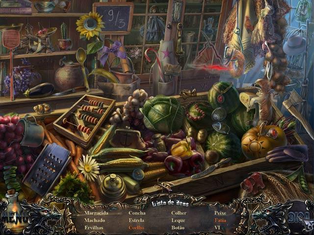 Screenshot Do Jogo 2 Shadow Wolf Mysteries: A Maldição da Família Edição de Colecionador