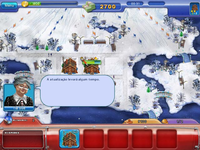 Screenshot Do Jogo 2 Ski Resort Mogul