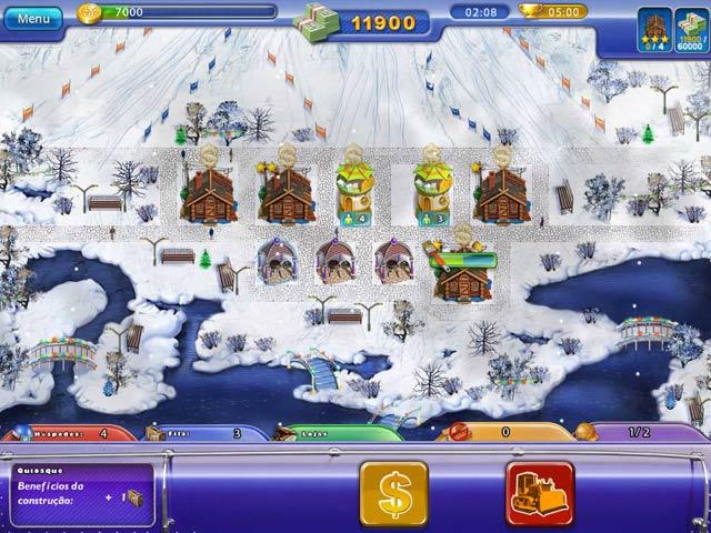 Screenshot Do Jogo 3 Ski Resort Mogul