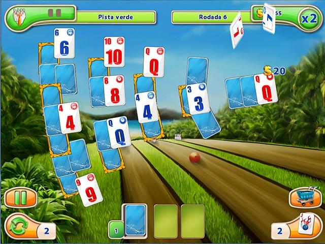 Screenshot Do Jogo 2 Strike Solitaire