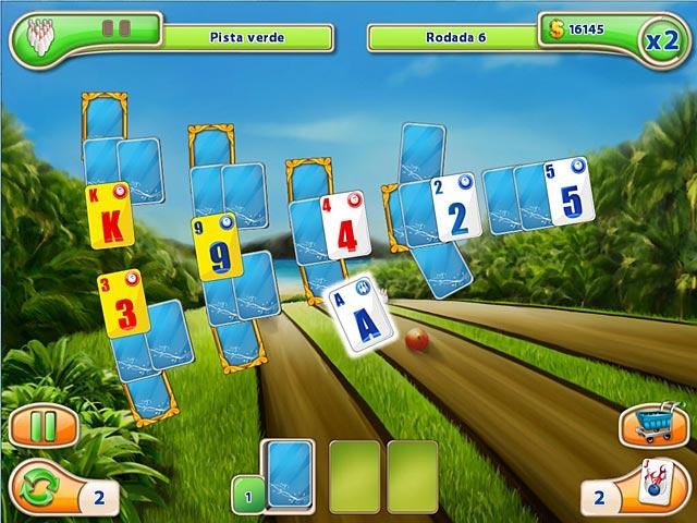 Screenshot Do Jogo 3 Strike Solitaire