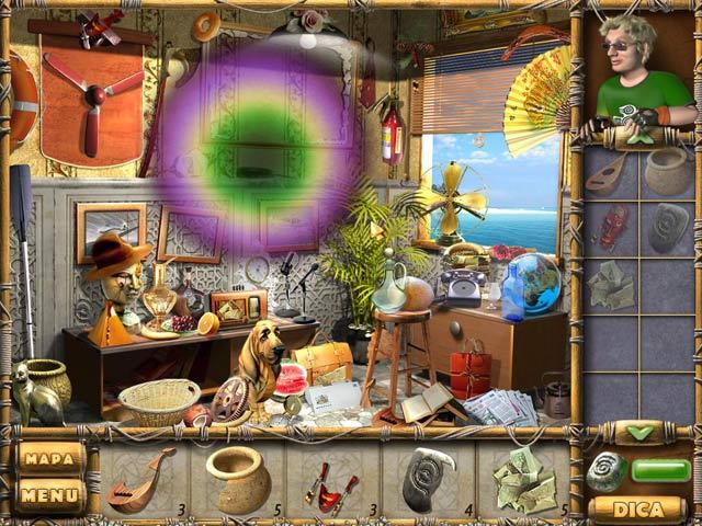 Screenshot Do Jogo 3 Treasures of Mystery Island