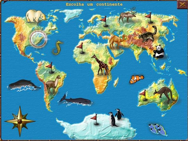 Screenshot Do Jogo 1 World Riddles: Animals