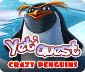 Característica Screenshot Do Jogo Yeti Quest: Crazy Penguins