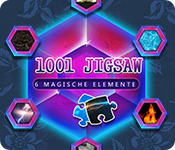 Feature- Screenshot Spiel 1001 Jigsaw - 6 Magische Elemente