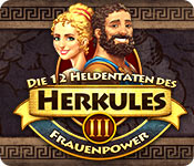 Feature- Screenshot Spiel Die 12 Heldentaten des Herkules III: Frauenpower