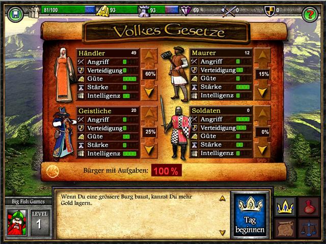 Spiele Screenshot 1 Age Of Castles
