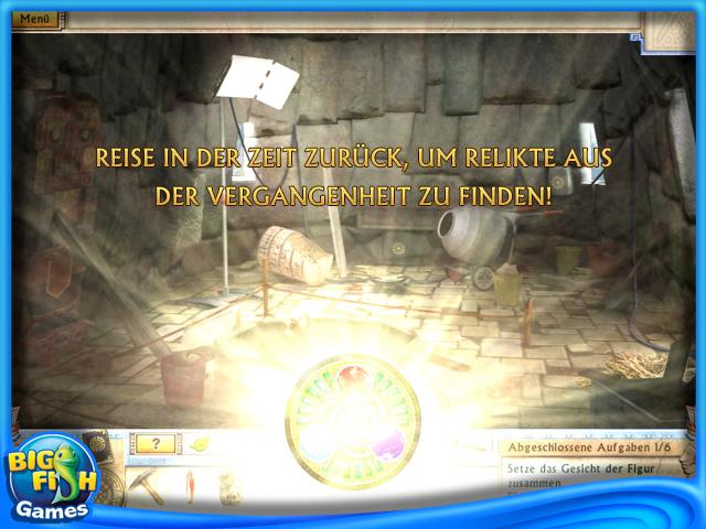 Screenshot für Alabama Smith und die Kristalle des Schicksals