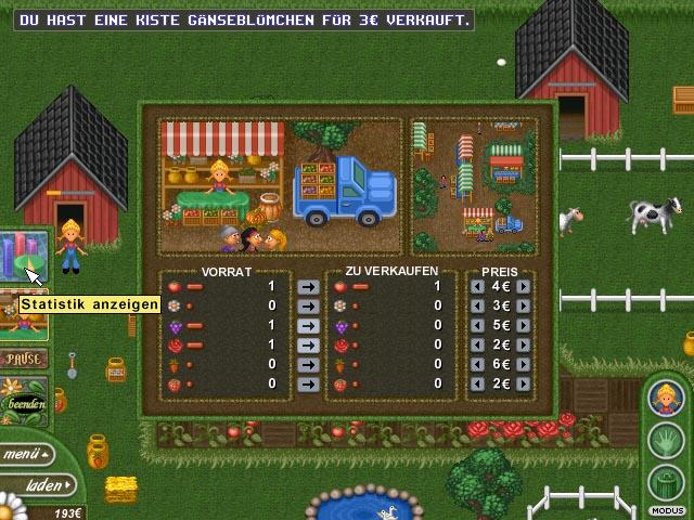Spiele Screenshot 1 Alice Greenfingers