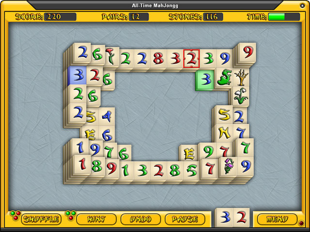 Spiele Screenshot 1 All-Time Mahjongg