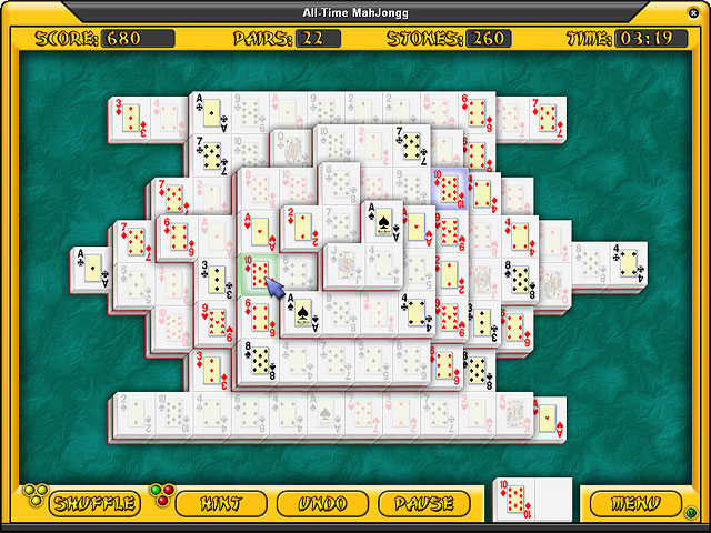 Spiele Screenshot 2 All-Time Mahjongg
