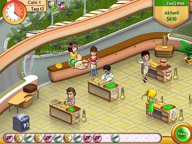 Spiele Screenshot 2 Amelie's Restaurant