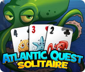 Feature- Screenshot Spiel Atlantic Quest: Solitaire