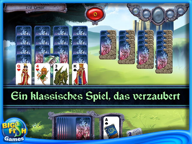 Screenshot für Avalon Legends Solitaire