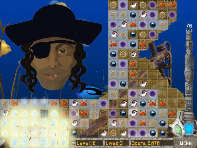 Spiele Screenshot 1 Big Kahuna Reef 2 - Chain Reaction