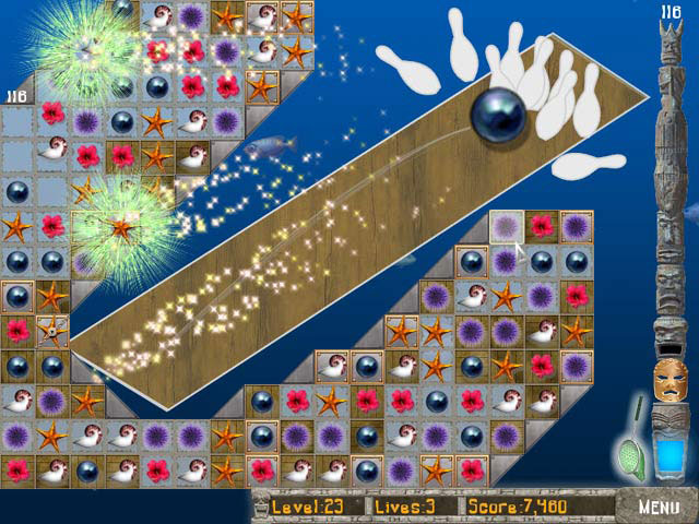Spiele Screenshot 2 Big Kahuna Reef 2 - Chain Reaction