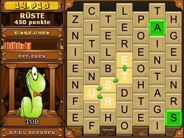 Spiele Screenshot 1 Bookworm Deluxe