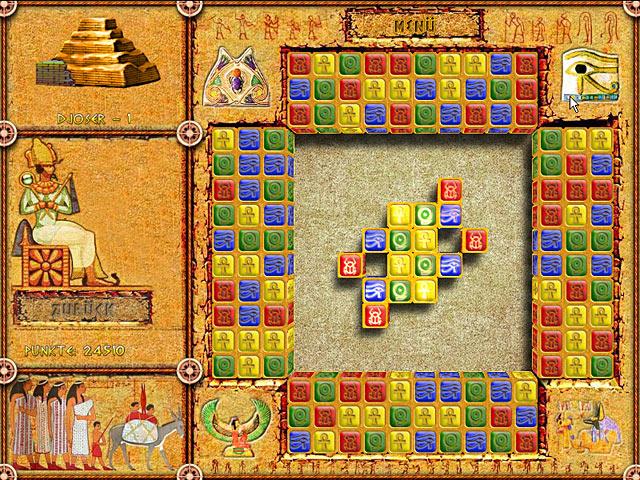 Spiele Screenshot 1 Brickshooter Egypt