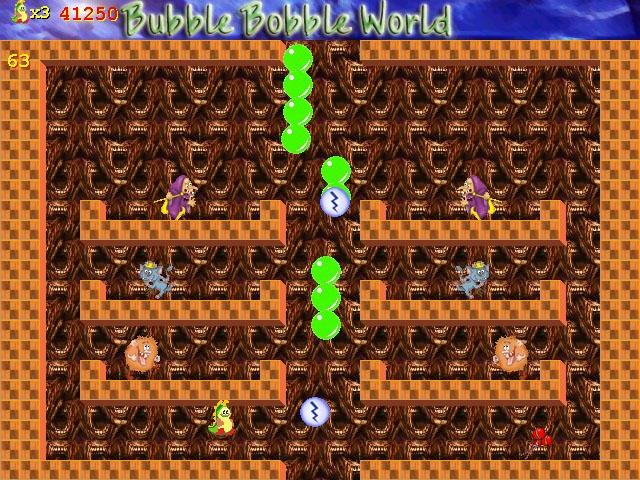 Spiele Screenshot 3 Bubble Bobble World