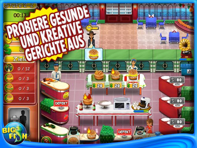 Burger bustle ellie 39 s bio burger ipad iphone android for Jackpot city big fish