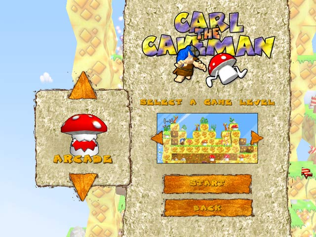 Spiele Screenshot 2 Carl The Cave Man