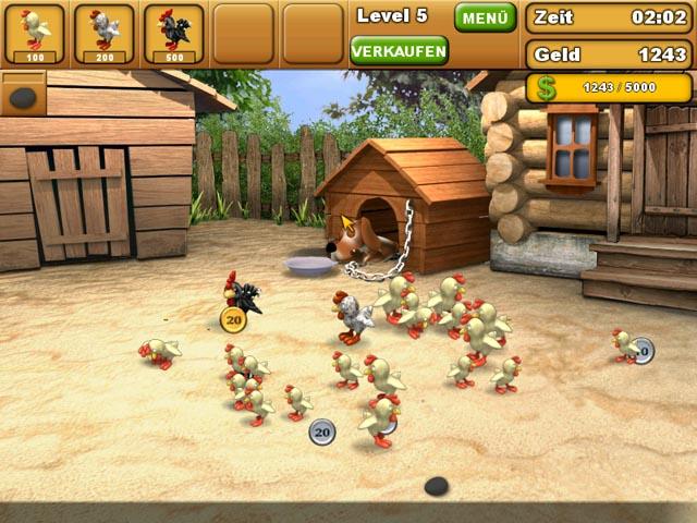 Spiele Screenshot 1 Chicken Chase
