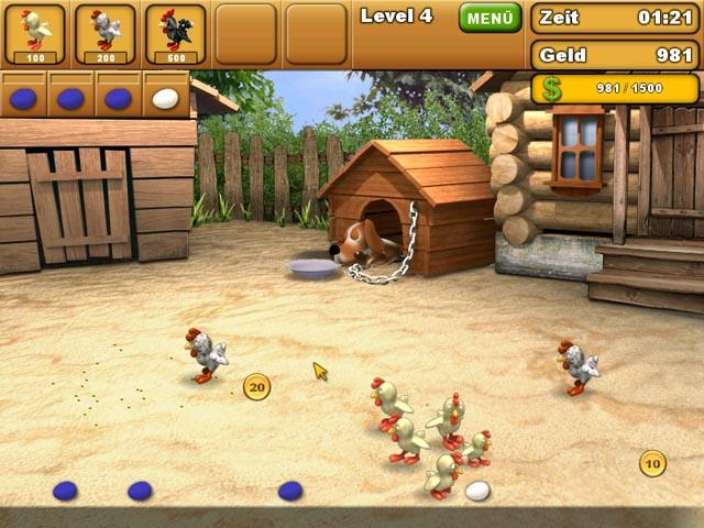 Spiele Screenshot 3 Chicken Chase