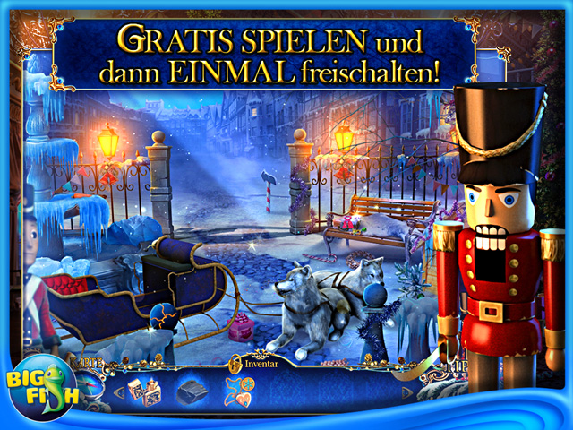 Screenshot für Christmas Stories 3: Hans Christian Andersens Der Zinnsoldat Sammleredition