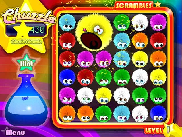 Spiele Screenshot 1 Chuzzle Deluxe