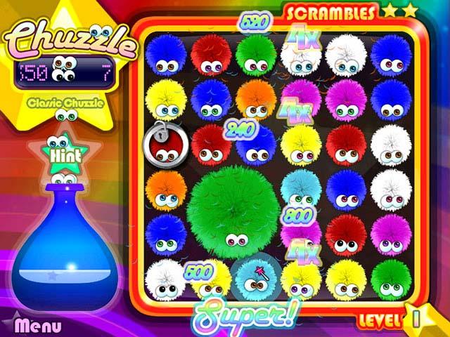 Spiele Screenshot 3 Chuzzle Deluxe