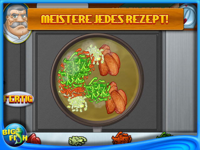 Screenshot für Cooking Academy