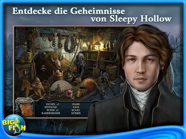 Screenshot für Cursed Fates: Der kopflose Reiter Sammleredition