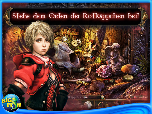 Screenshot für Dark Parables: Der Orden der Rotkäppchen Sammleredition