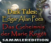 Feature- Screenshot Spiel Dark Tales: Edgar Allan Poes Das Geheimnis der Marie Rogêt Sammleredition