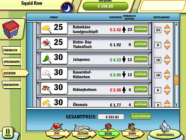 Spiele Screenshot 1 DinerTown Tycoon