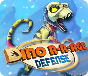 Feature- Screenshot Spiel Dino R-r-age Defense