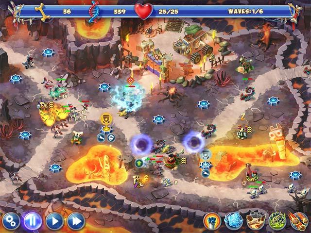 Spiele Screenshot 3 Dino R-r-age Defense