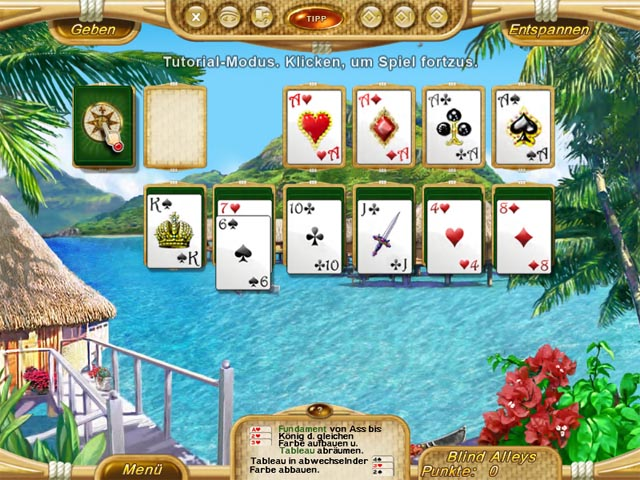 Spiele Screenshot 1 Dream Vacation Solitaire