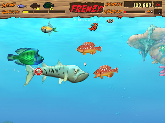 Spiele Screenshot 1 Feeding Frenzy 2 Shipwreck Showdown