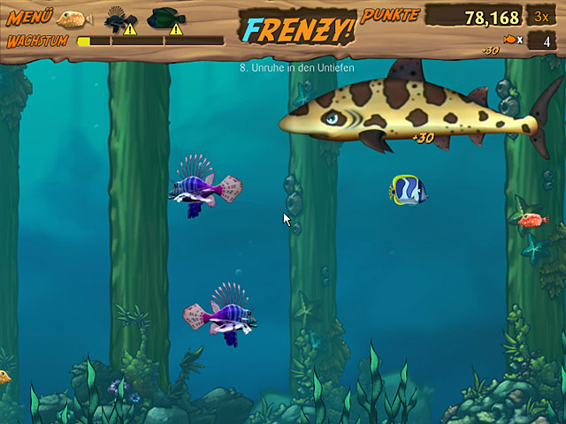 Spiele Screenshot 3 Feeding Frenzy 2 Shipwreck Showdown