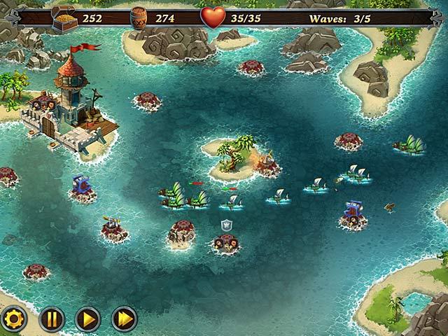 Spiele Screenshot 1 Die Freibeuter der Karibik