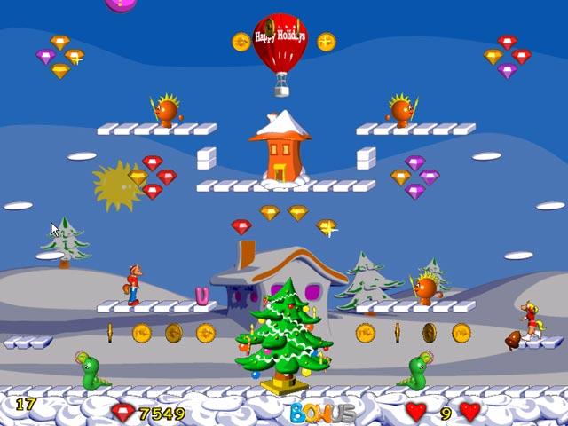 Spiele Screenshot 1 Foxy Jumper 2 Winter Adventures