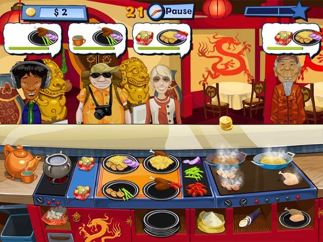 Spiele Screenshot 1 Fröhlicher Koch 2