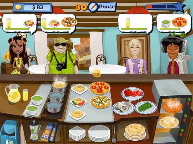 Spiele Screenshot 3 Fröhlicher Koch 2