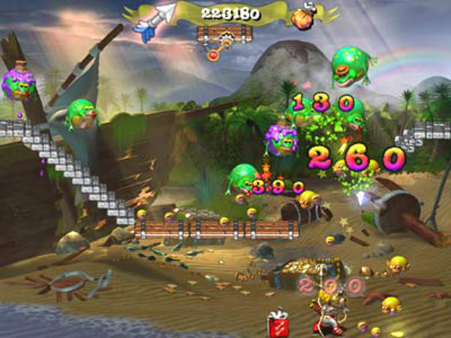 Spiele Screenshot 2 Froggy Castle 2